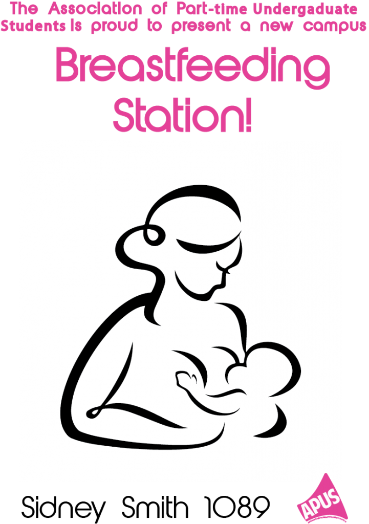 breastfeeding space poster